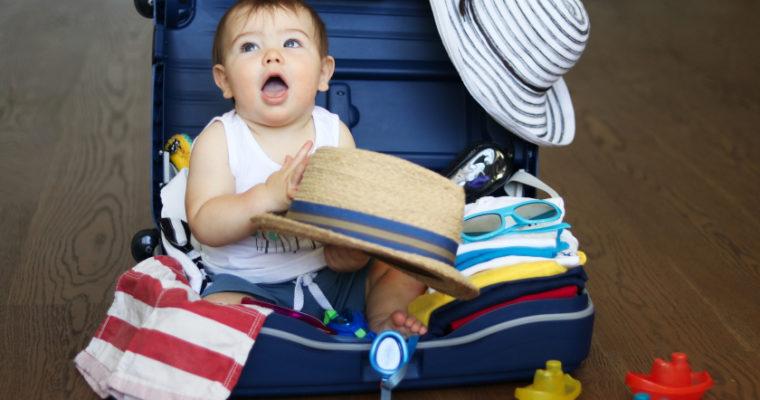 Voyager avec un bébé : article CitizenKid