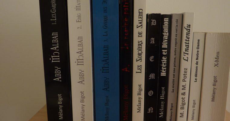 Romans : ma bibliographie d'écrivain